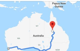 Perth to Queensland roadtip