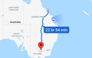 Roadtrip Airlie Beach to Cobram in a fried out combie!
