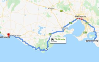 Philip Island > Great Ocean Road > Melbourne from 23 March for 5 days